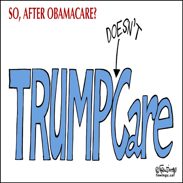 Image result for trumpcare cartoons