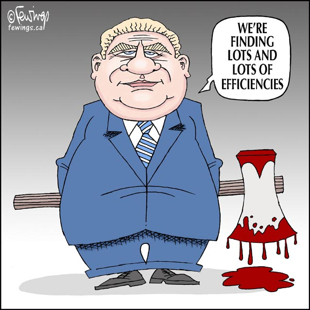 Image result for doug ford cartoons